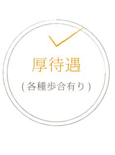 厚待遇(各種歩合有り)
